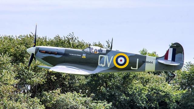 Spitfire, Aeroplane, Fighter, Raf, Ww2, Aircraft