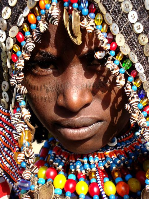 Africa, African Face, Afar Tribe, African Girl, Wedding