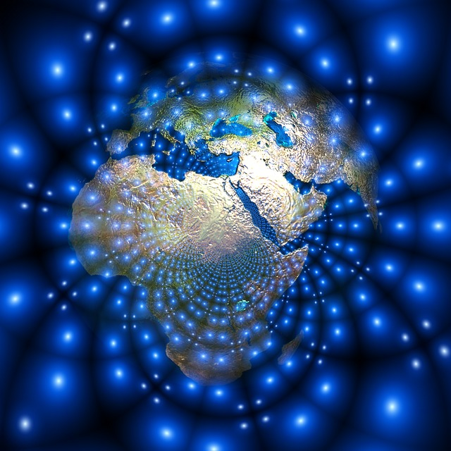 Globe, Africa, Europe, Asia, Bright, Shiny, Slightly