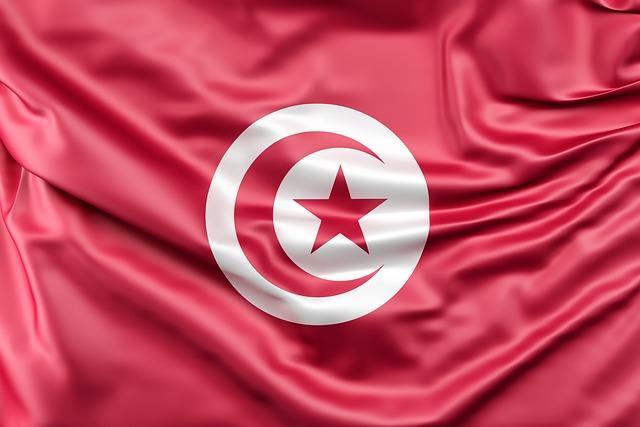 Flag Of Tunisia, Flag, Tunisia, Symbol, Africa, African