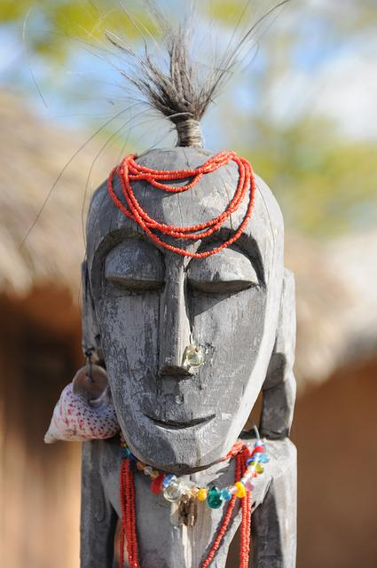 Nature, Mask, Africa, Figure