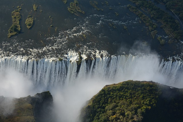 Africa, Victoria Falls, Waterfall