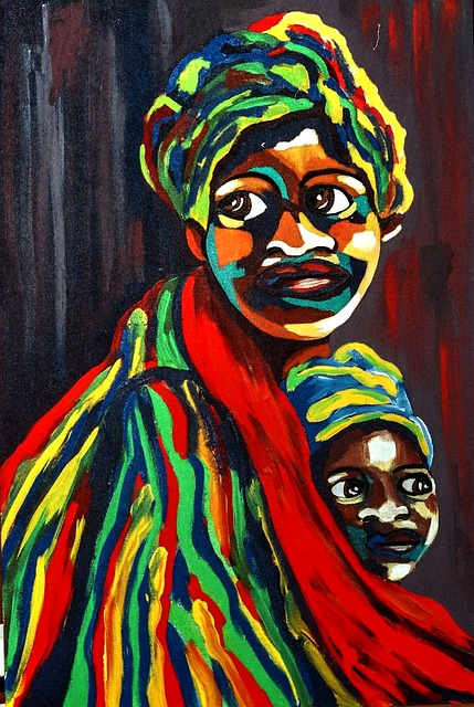 African Art, Mother And Child, Design, Creative
