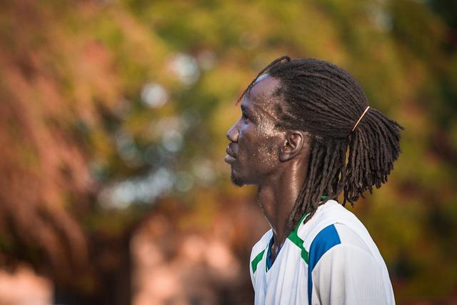 Portrait, African, Kenyan, Turkana, Lodwar, Black