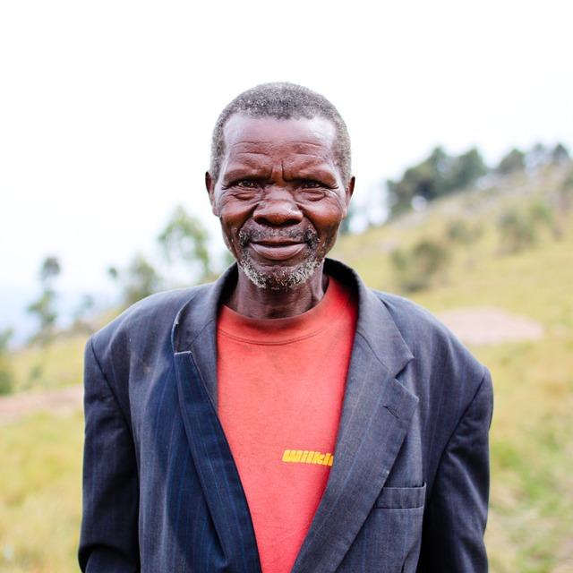 Portrait, Face, Burundi, Man, Old Man, African, Africa