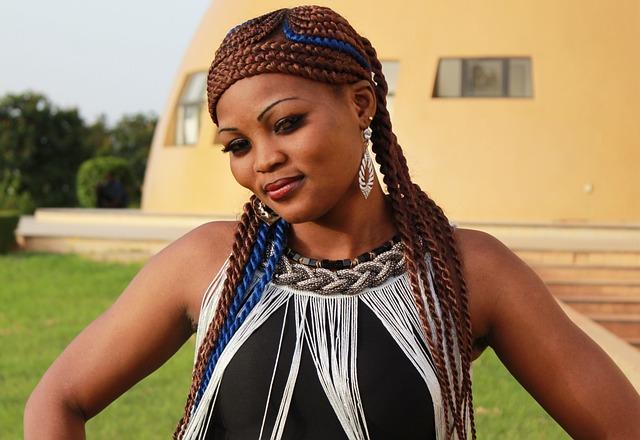 Singer, Africa, Afrikanerin, Black, Young, Burkina