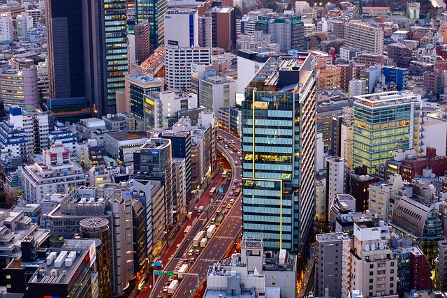 Building Valley, City View, Evening, Urban, After Five