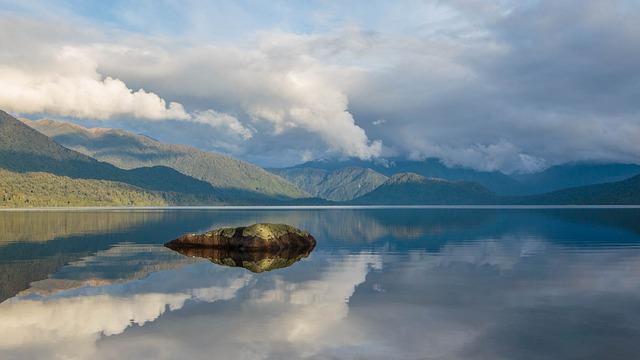 Lake Kaniere, New Zealand, Lake, Afternoon