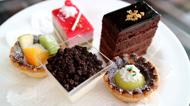 Afternoon Tea, Cake, Pastry, Dim Sum, Cheesecake