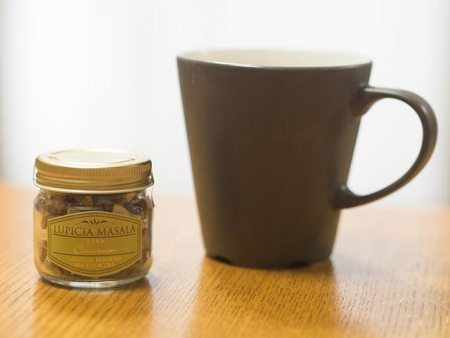 Tea Time, Mug, Tea, Afternoon, Small Bottle