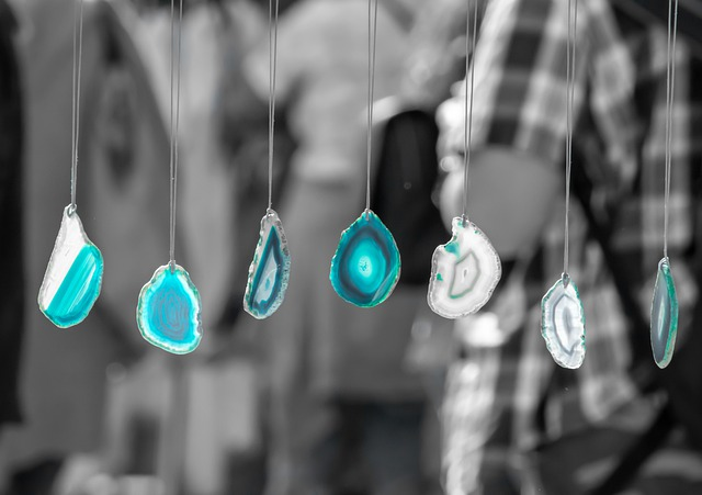 Agate, Stone, Gem, Crystal, Mineral, Blue, Turquoise