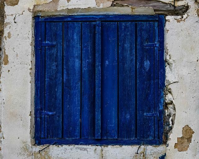 Window, Old, Weathered, Aged, Damaged, Wall