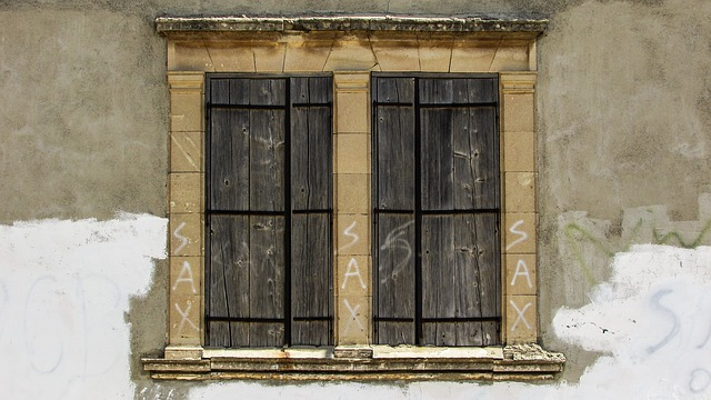 Window, Wooden, Old, Aged, Weathered, Village