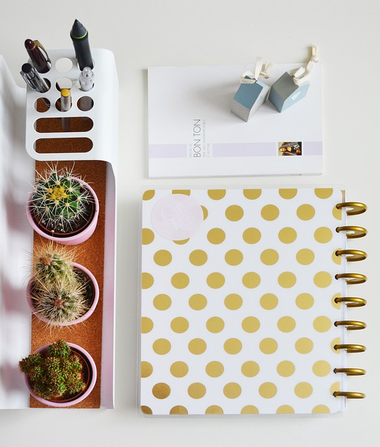Agenda, Planner, Fat Plants, Desk, Organize