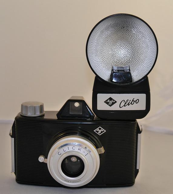 Agfa Click I Lightning Clibo, 50s, Photo, Vintage