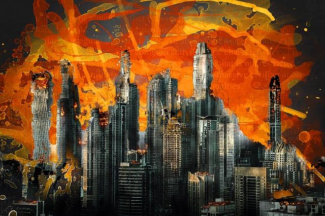 War, Destruction, Armageddon, Aggression, Conflict
