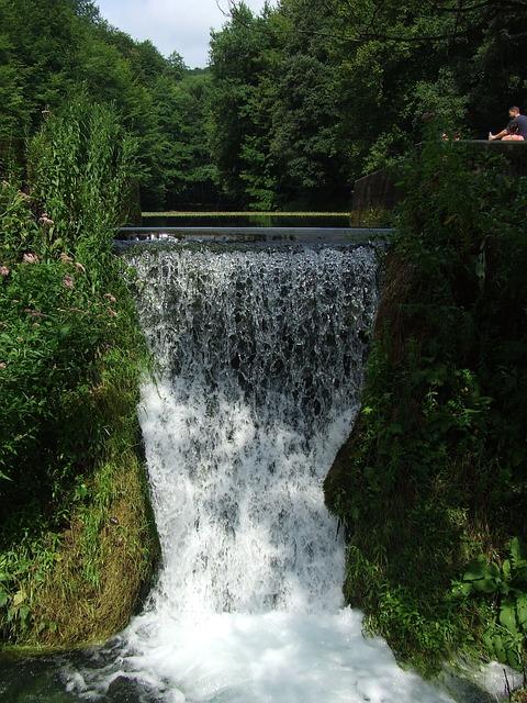 Waterfall, Josvafo, Tarn, Water, Nature, Aggtelek Hills