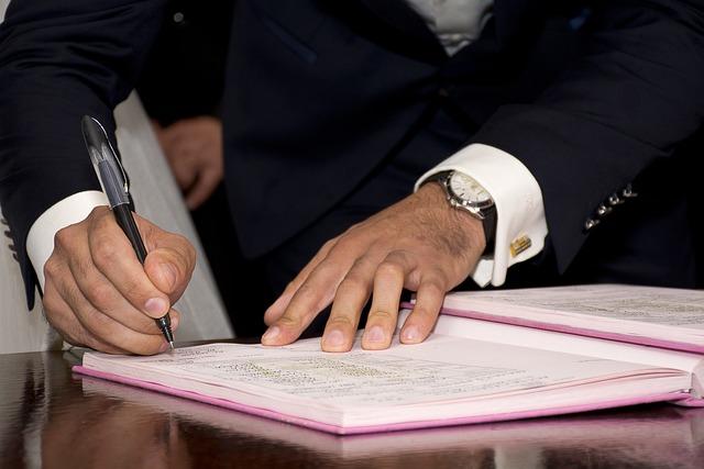 Mayor, Signature, Sign, Adult, Agreement, Antenuptial