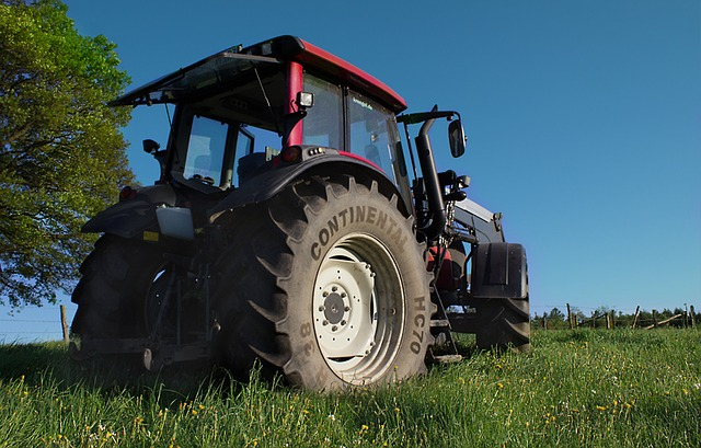 Tractor, Tractors, Agricultural Machine, Bulldog