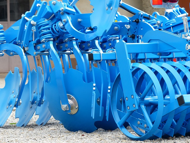 Short Disc Harrow, Harrow, Agricultural Machine, Device