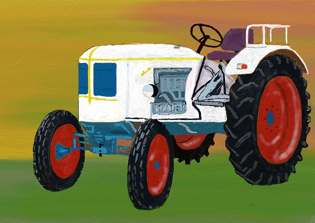 Tractor, Agriculture, Commercial Vehicle