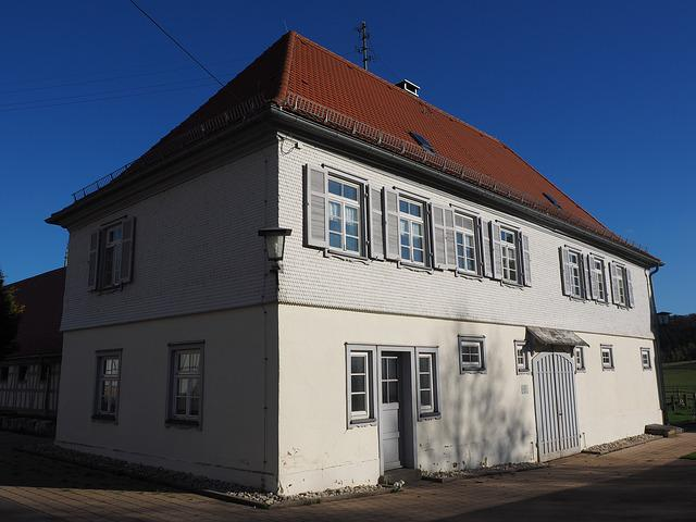 Farmhouse, Home, Hof, Agriculture, Fohlenhof
