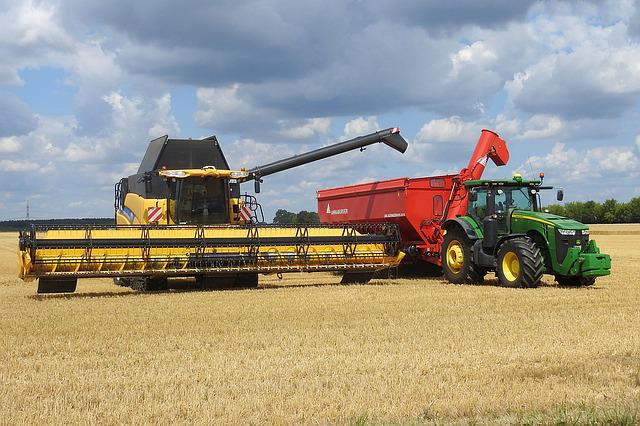 Combine Harvester, Harvester, Agriculture, Vehicle