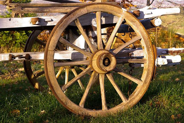 Cart, Wheel, Agriculture, Farm