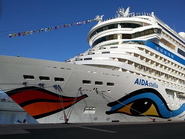 Travel, Transport System, Aida, Ship, Holiday, Cruise