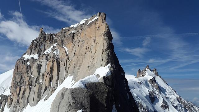 Aiguille Du Midi, Midi-plan Ridge, Rognan Du Plan