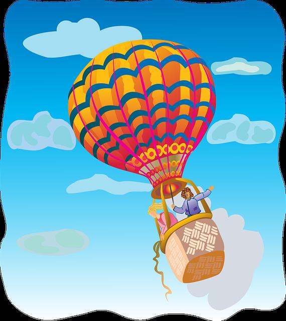 Airballoon, Air Balloon, Flight, Sky, Fun, Cheerful