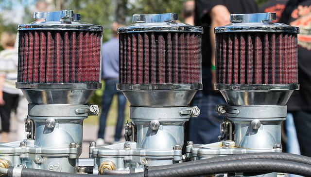 Air Filter, Manifold, Car, Engine