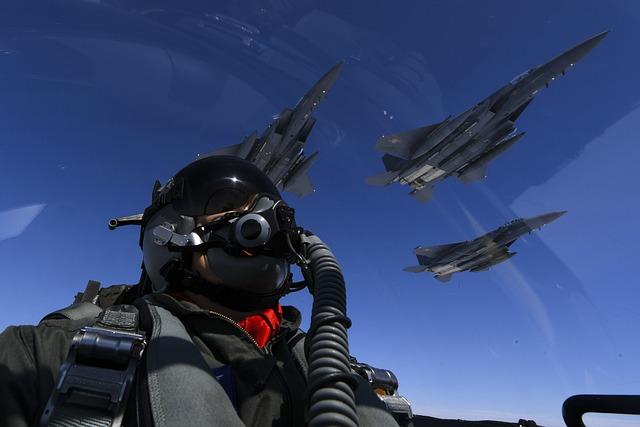 F-15, B-1b Lancer, Flight, Formation, Air Force
