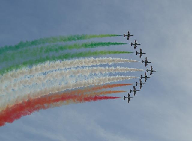 Frecce Tricolori, Italy, Air Force