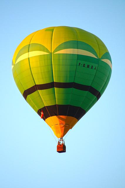 Ball, Sky, Hot-air Ballooning, Nacelle, Flight, Air