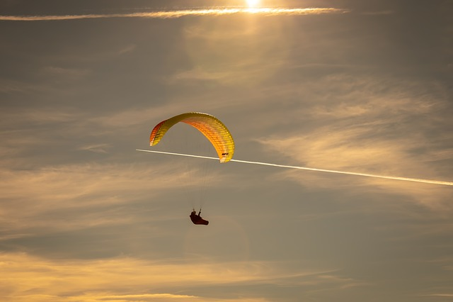 Paragliding, Flying, Sky, Air Sports, Freedom