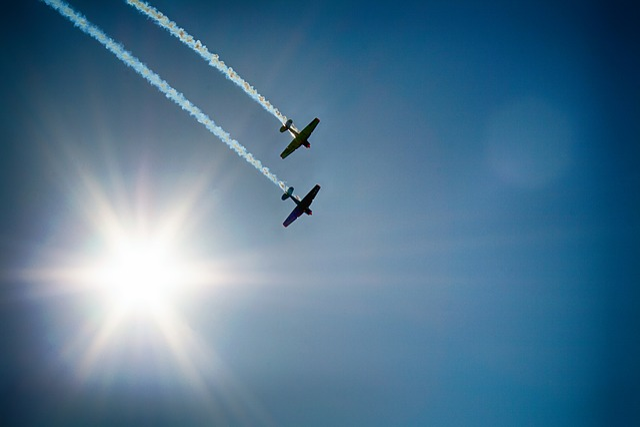Aircraft, Flugshow, Air Show, Fly, Sky