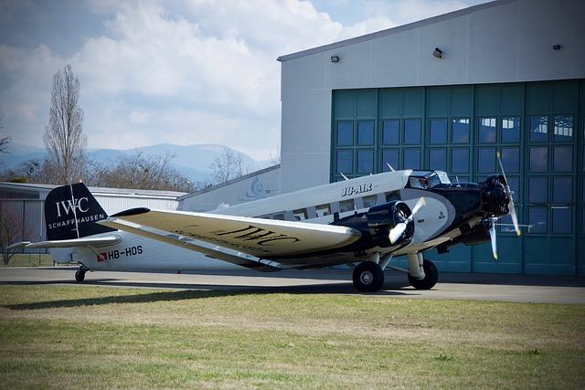 Aircraft, Airport, Propeller, Ju-52, Flyer, Old