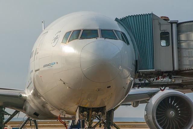 Aircraft, Airport, Transport, Travelers