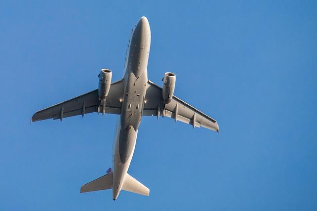 Aircraft, Fly, Sky, Flyer, Wing, Flight, Blue, Turbine