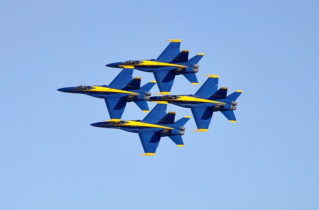 Blue Angels, Jets, F-18, Flight, Aircraft, Flying