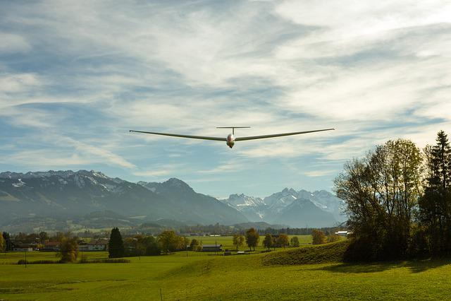 Glider, Aircraft, Allgäu, Wings, Sport Aircraft, Span