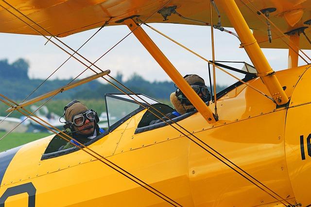 Oldtimer, Aircraft, Take Off, Aviation, Propeller Plane