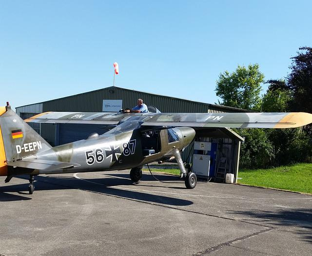 Aircraft, Dornier Do 27, Stol-multipurpose Aircraft