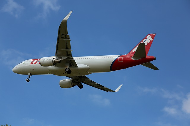 Plane, Tam, Flying, Commercial, Aircraft, Trip, Fly