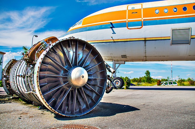 Aircraft, Turbine, Engine, Old