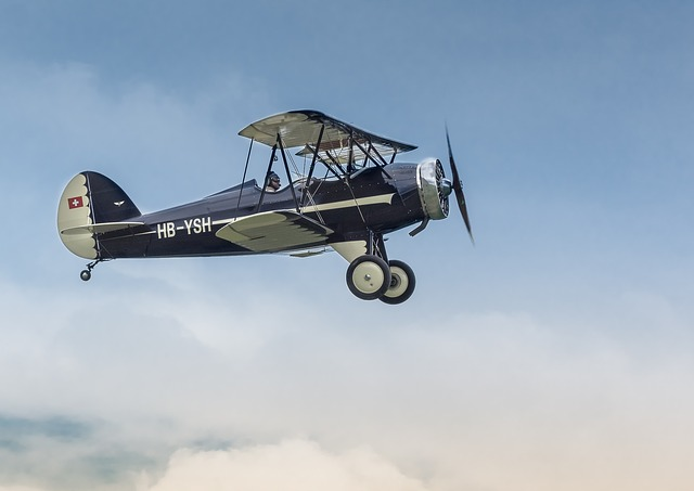 Aircraft, Hatz Cb-1, Classic, Vintage, Double Decker