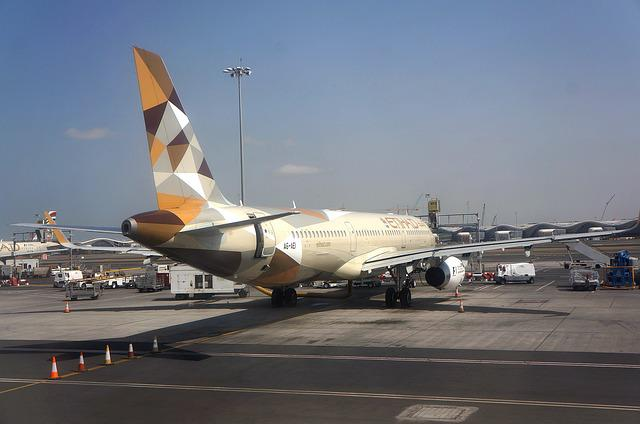 Airliner, Airport, Etihad, 321, Airbus, Wing, Aircraft