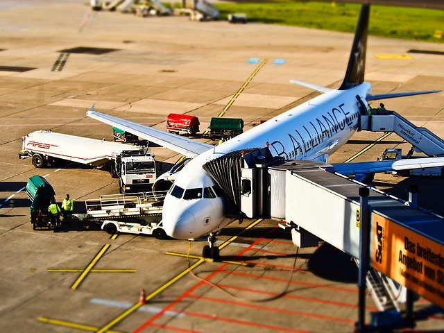 Airport, Aircraft, Departure, Travel, Fly, Airliner