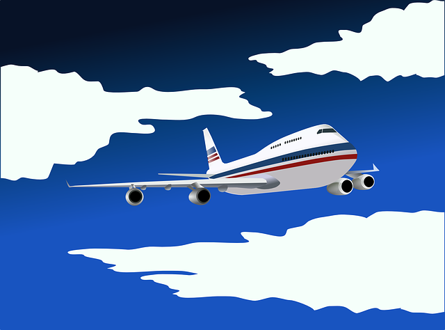Airplane, Aircraft, Airline, Plane, Boeing 747